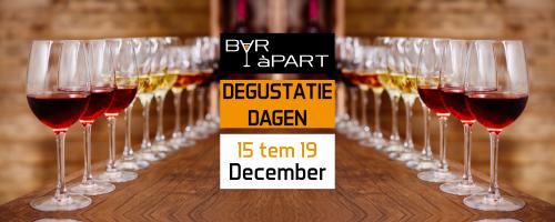 Degustatiedagen 15 tem 19 december