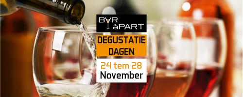 Degustatiedagen november: proef wijnen voor de feesten!