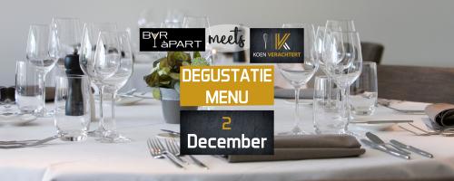 BAR àPART meets KOEN VERACHTERT 3de editie op 2 december