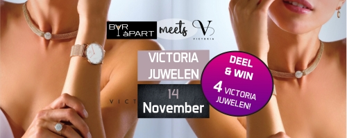 Victoria Juwelenavond bij BAR àPART op 14 november