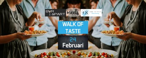 Save The Date voor de Walk of Taste van Cook In Style en BAR àPART