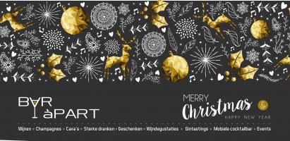Bruisende feesten en een schitterend 2018 gewenst!