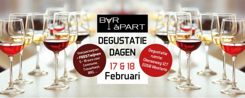Nieuwe degustatiedagen in februari op locatie!