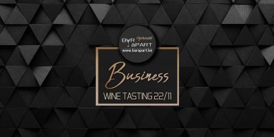 Business Wine Tasting 22 november 2019