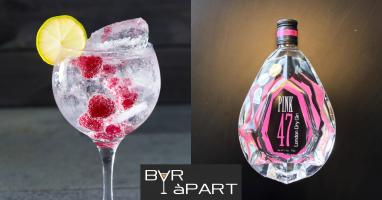 Gin tonic recept met PINK 47 gin