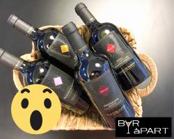 BAR àPART Geschenkmand 4 TOP Zolla wijnen twv 49,95 euro