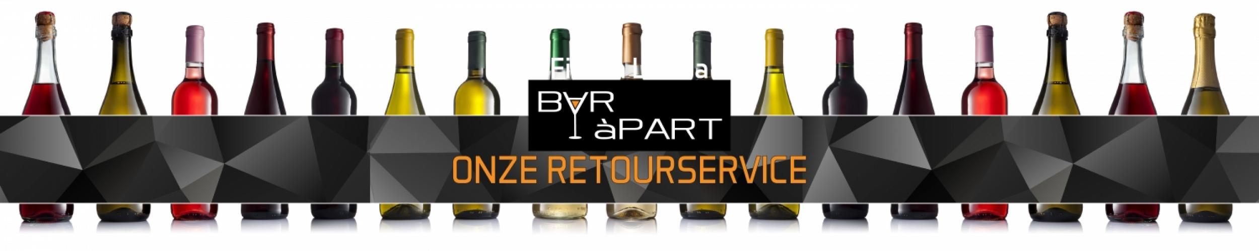 BAR àPART Retourservice voor feesten