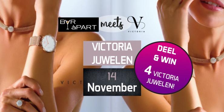 Victoria Juwelen bij BAR àPART op 14 NOVEMBER