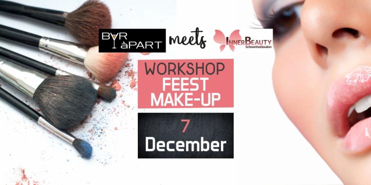 BAR àPART meets InnerBeauty: Workshop Feest Make-Up