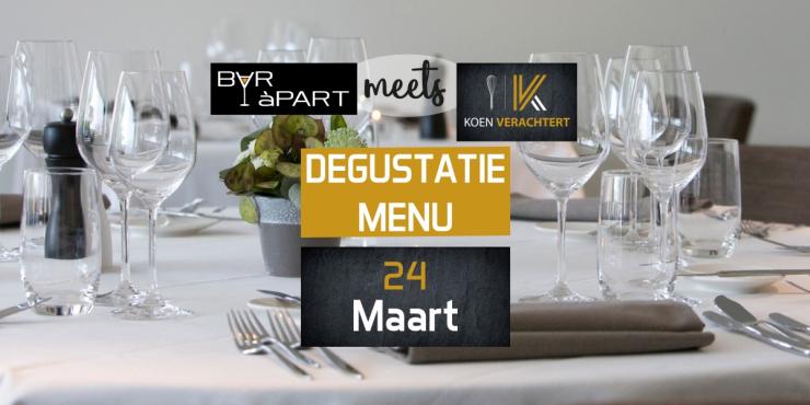 BAR àPART meets KOEN VERACHTERT op 24 maart