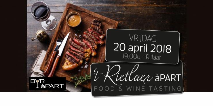 t Rietlaer àPART op 20 april