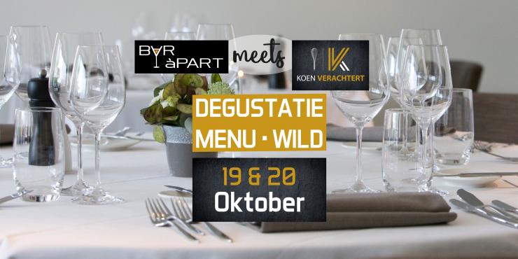BAR àPART meets KOEN VERACHTERT op 19 en 20 oktober