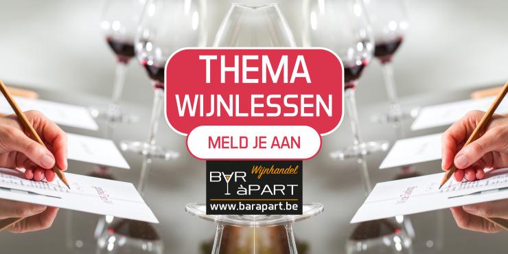 Thema Wijnlessen • Meld je aan