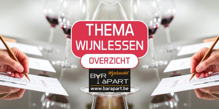 Thema Wijnlessen Overzicht