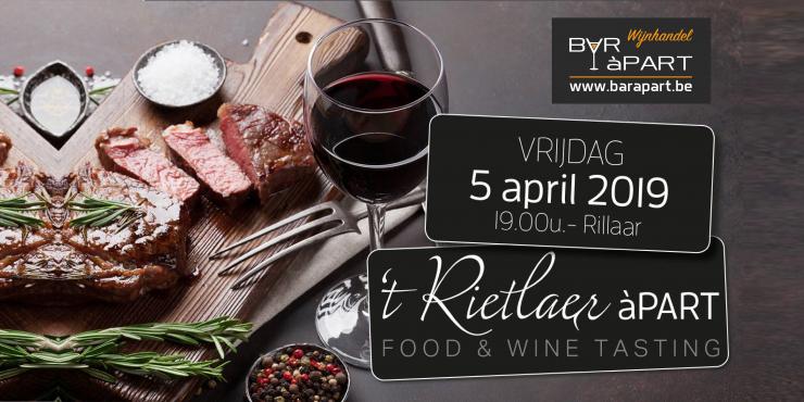 't Rietlaer àPART vrij 5 april 2019