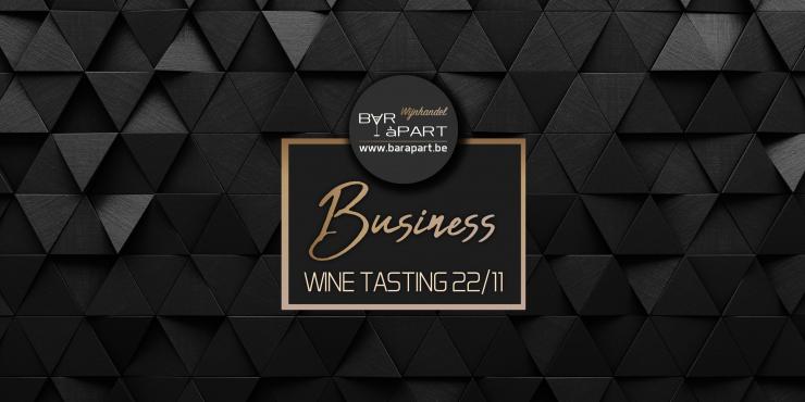 Business Wine Tasting vrijdag 22 november